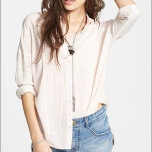 NWT free people button down